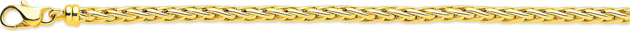 bijoux-or bracelet maille palmier 2305