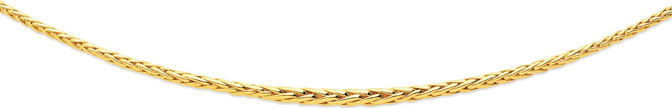 bijoux-or collier maille palmier 2323
