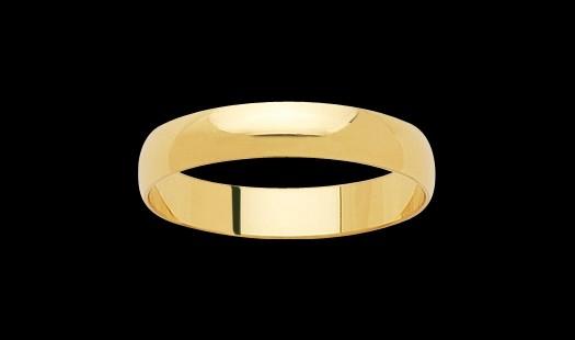 bijoux-or alliance or jaune 23m