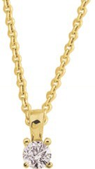 bijoux or-collier et pendentif or et diamant 3.005.30