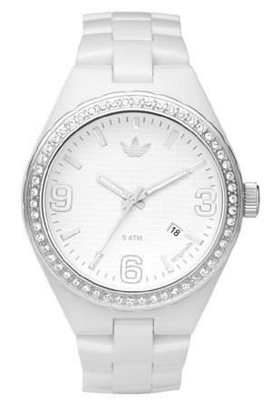 ADIDAS montre mixte blanche ADH2505