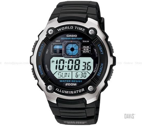 Montre Casio homme AE-2000W-1AV