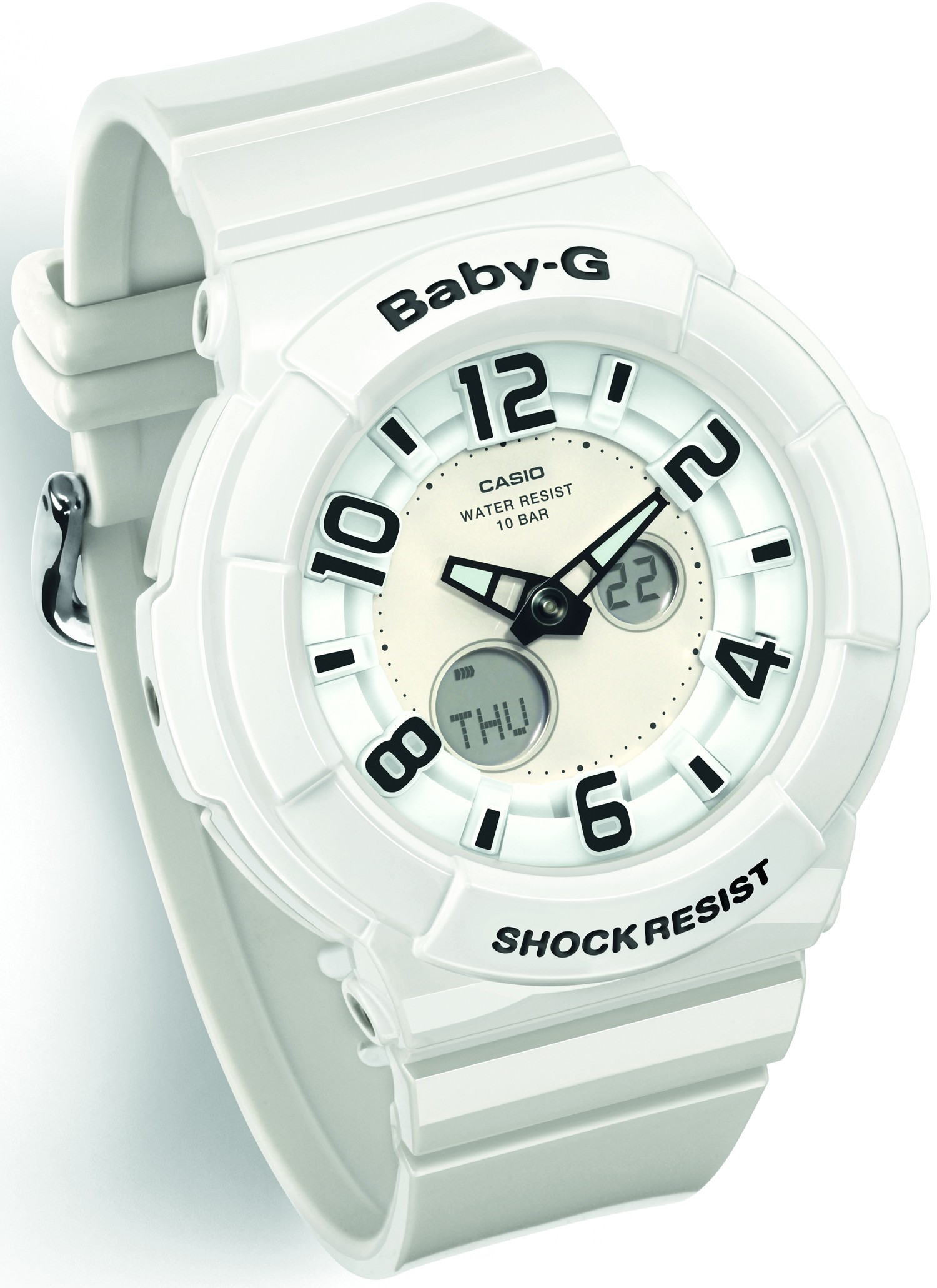 CASIO Baby-G blanche BGA-132-7BER.