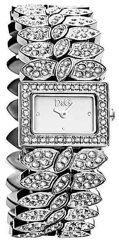 D&G montre femme avec strass DW0492