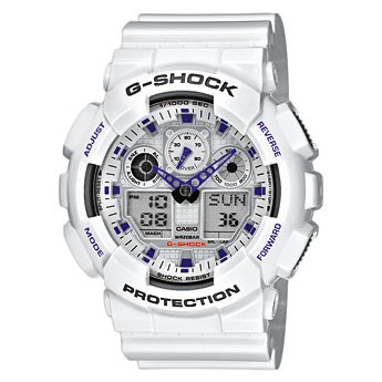 Montre mixte CASIO G-SHOCK GA-100A-7AER