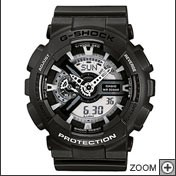 Montre CASIO noire collection G-SHOCK GA-110C-1AER