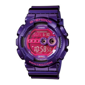 Montre Casio G-SHOCK violette GD-100SC-6ER