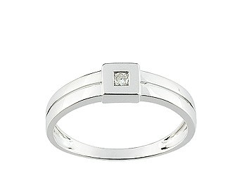 Christian Bernard-bague diamant QJ012GB5