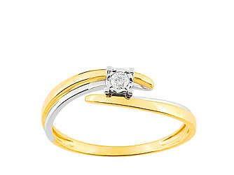 Christian bernard bague or et diamants QL060BB5