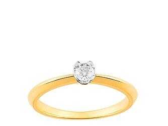 Bague or diamant christian bernard QM049XB4