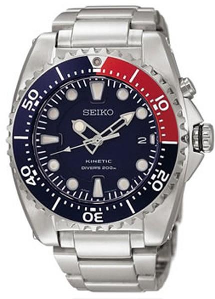 SEIKO-montre kinétic plongée SKA369P1