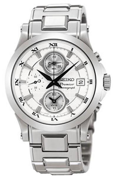 SEIKO premier- chronographe SNA583