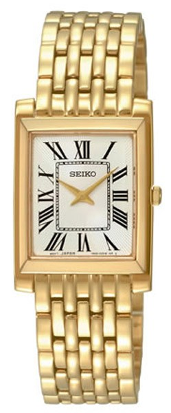 seiko montre femme classique plaqu or sujg22. Black Bedroom Furniture Sets. Home Design Ideas