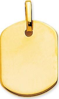 bijoux-or pendentif or jaune t3 gravure offerte