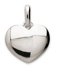 Pendentif coeur argent + chaîne assortie 206227