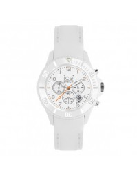 ICE WATCH montre chrono cuir blanche CH.WE.B.L.11