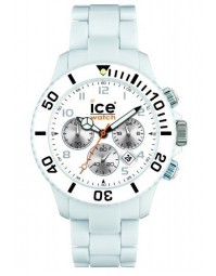 ICE WATCH montre chrono blanche unisex CH.WE.U.P.10