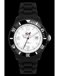 Montre Ice Watch en silicone noir SI-BW-US-10