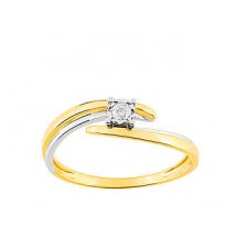 Christian bernard bague or et diamants QL060BB5