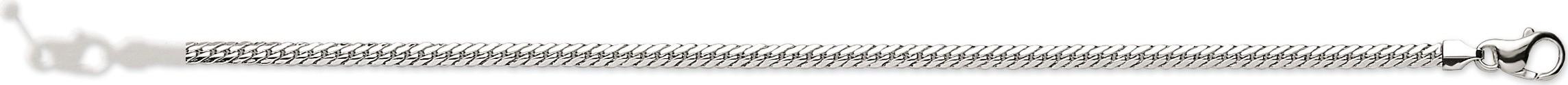 bijoux-or bracelet or blanc 18 carats 2001g