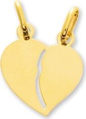 Pendentif coeur or 18 carats + chaîne assortie 20806