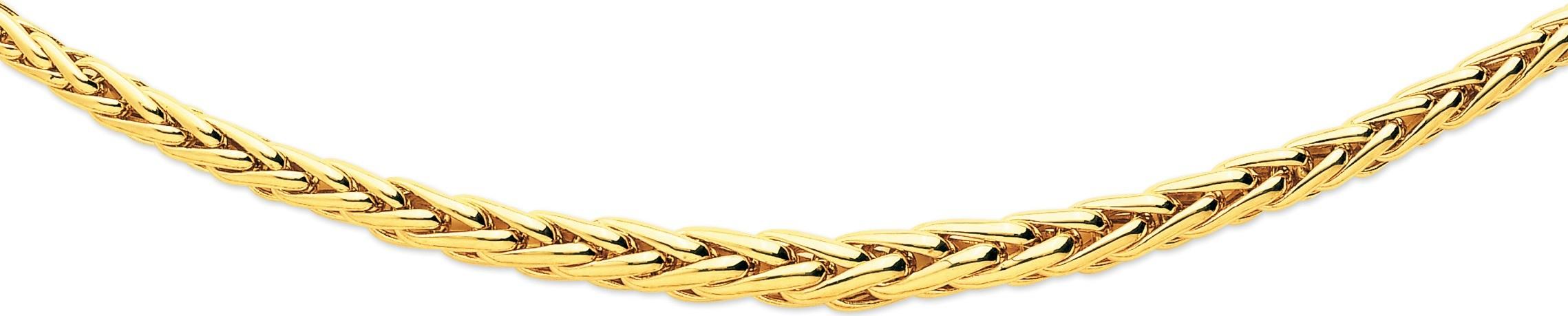 bijoux or-collier maille palmier 161007