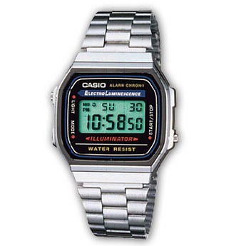 CASIO montre vintage A168WA-1YES