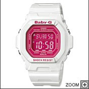 Montre CASIO BABY-G blanche BG-5601-7ER