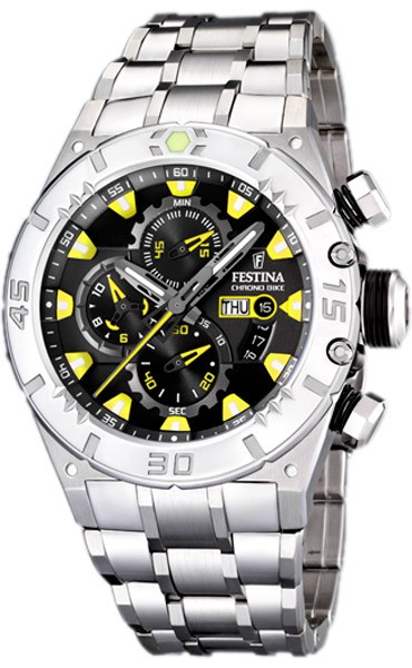 Festina chronographe acier F16527-2