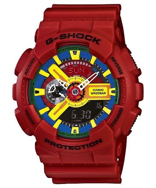 Casio G-Shock rouge GA-110FC-1A