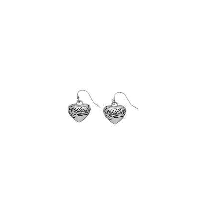 Boucles d'oreilles en forme de coeur Guess UBE80934