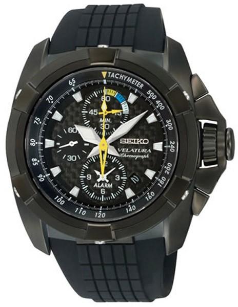 SEIKO montre homme chrono tachymètre Velatura SNAE17