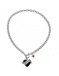Guess-bijoux collier coeur UBN81130