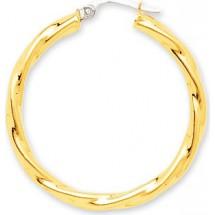 bijoux-or créoles 18 carats 2520